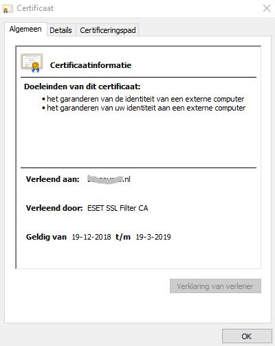 SSL-certificaat herkennen en meer informatie bekijken