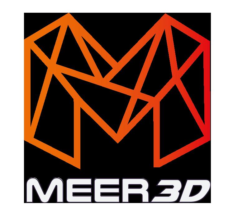 meer 3D logo